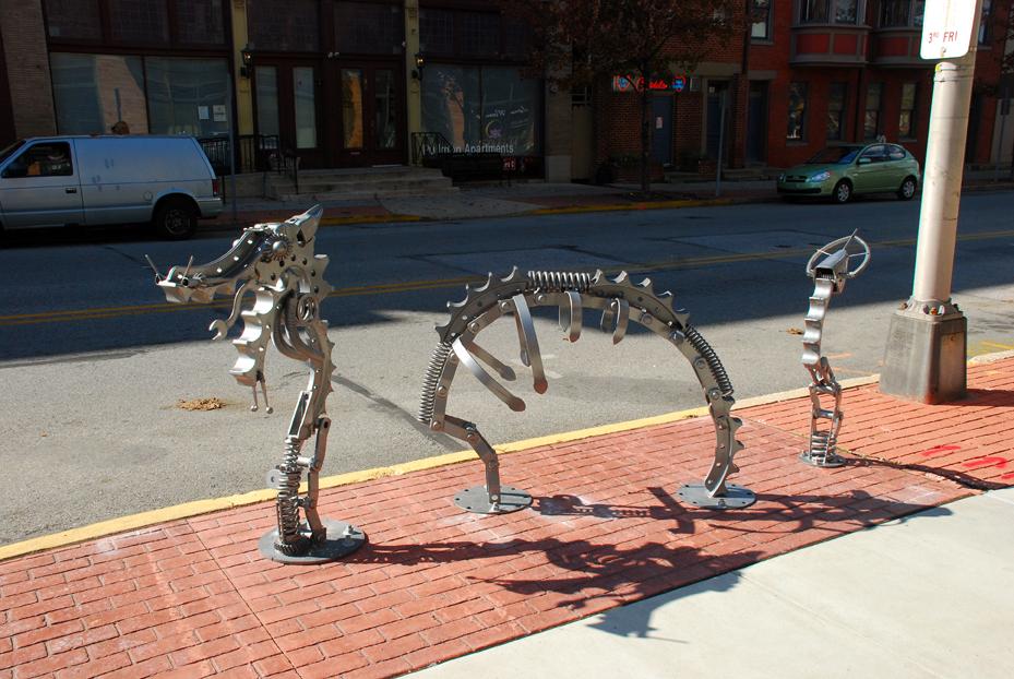 Codo Dragon by designer/fabricator/weld instructor Josh Seitzer.