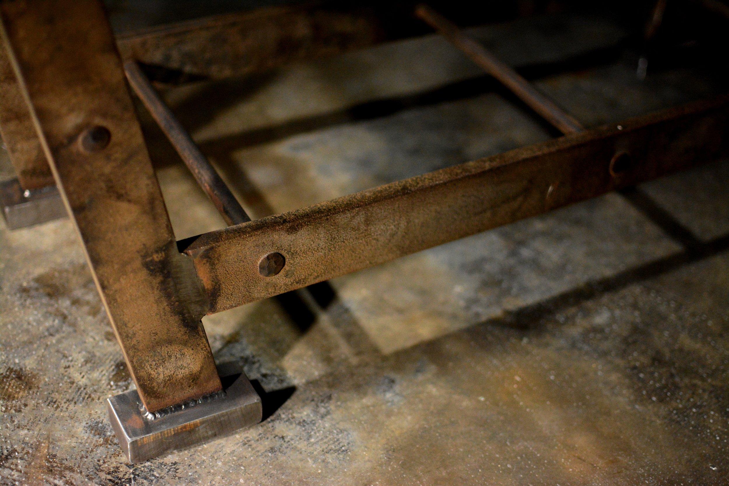 Industrial coffee table - La Scala a