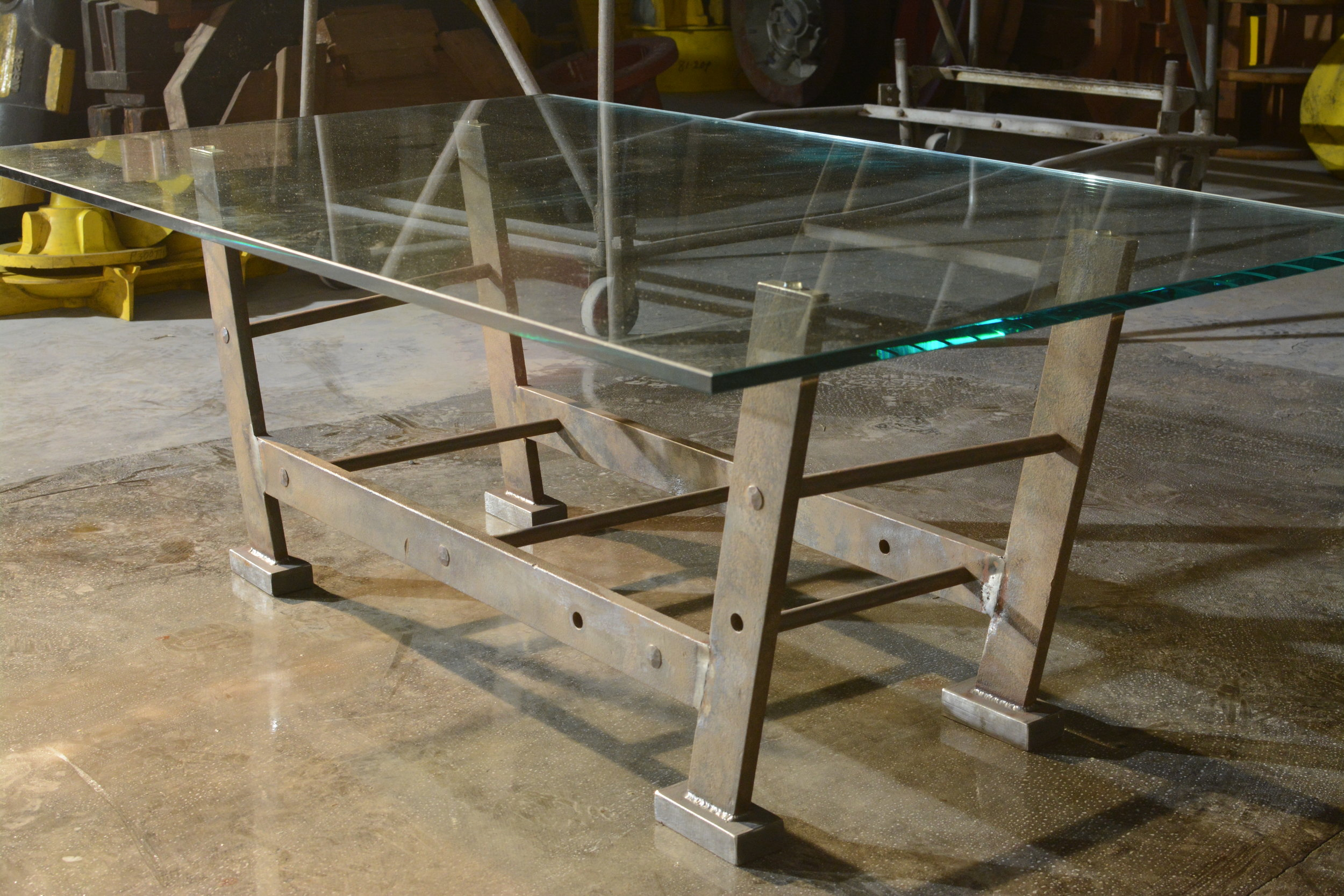 Industrial coffee table - La Scala C