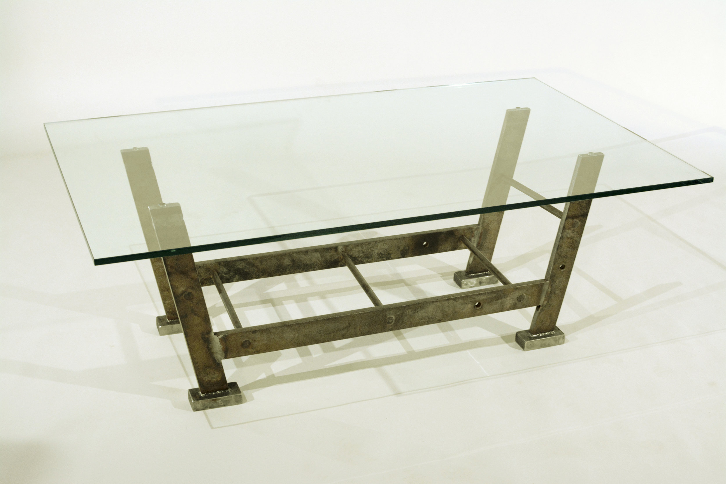 Industrial coffee table - La Scala b