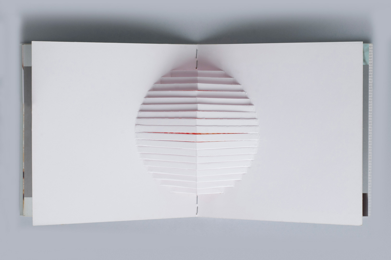miolo | detalhe kirigami | pop up