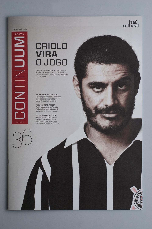 Revista Continuum 36 | capa