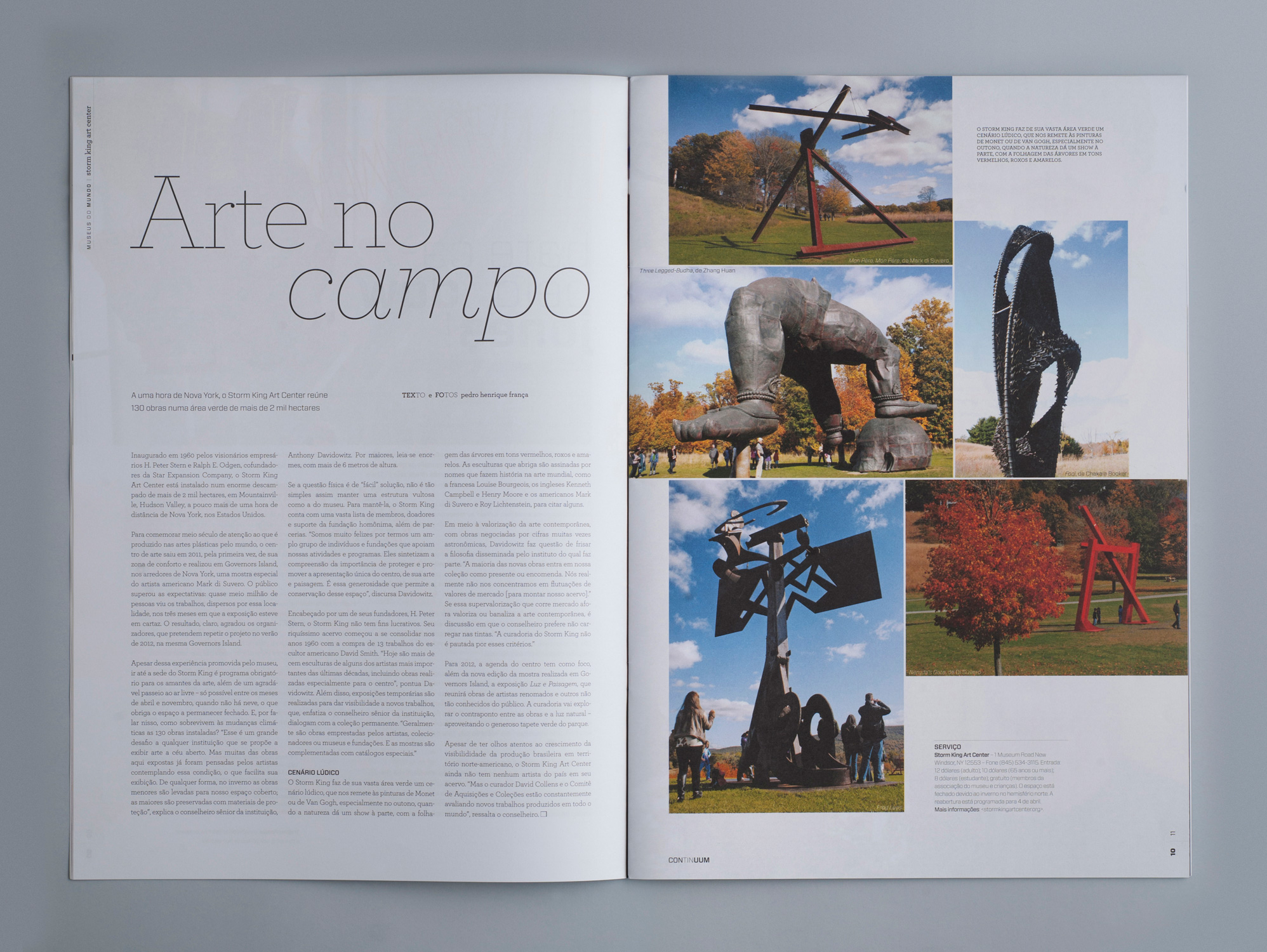 Revista Continuum 35 | miolo (detalhe)