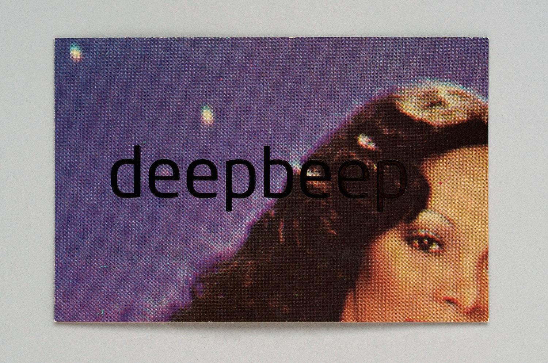 cartão de visita para site de música