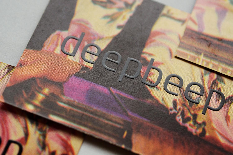 cartão de visitas para site de música | detalhe