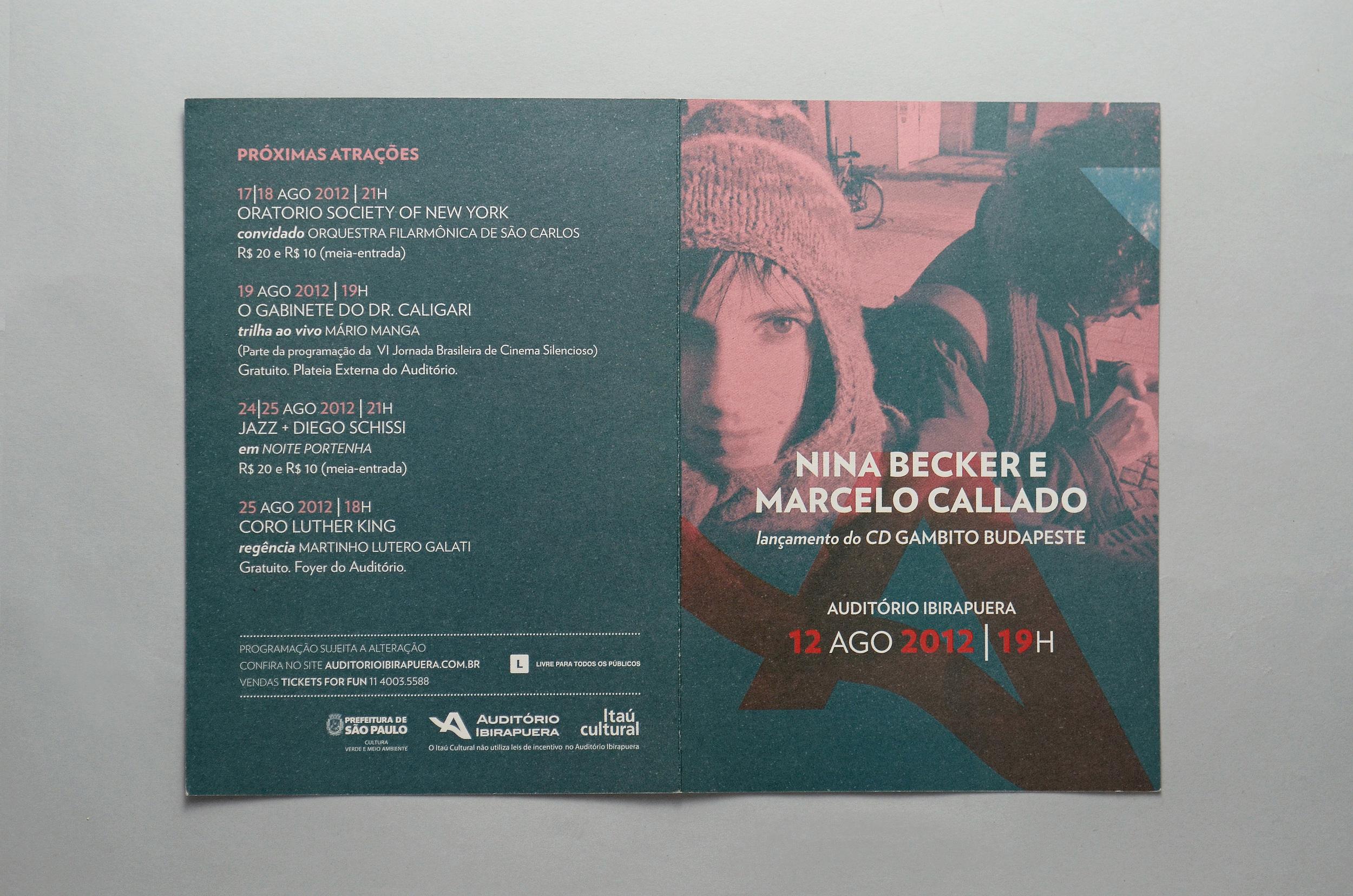 programa Nina Becker e Marcelo Callado