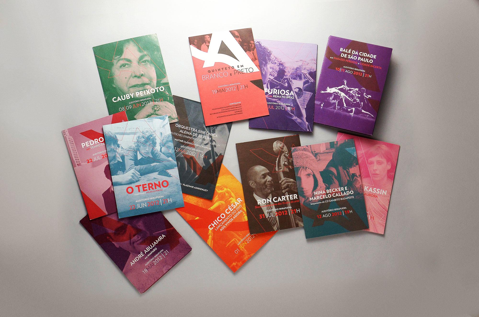 reformulação de identidade visual Auditório Ibirapuera