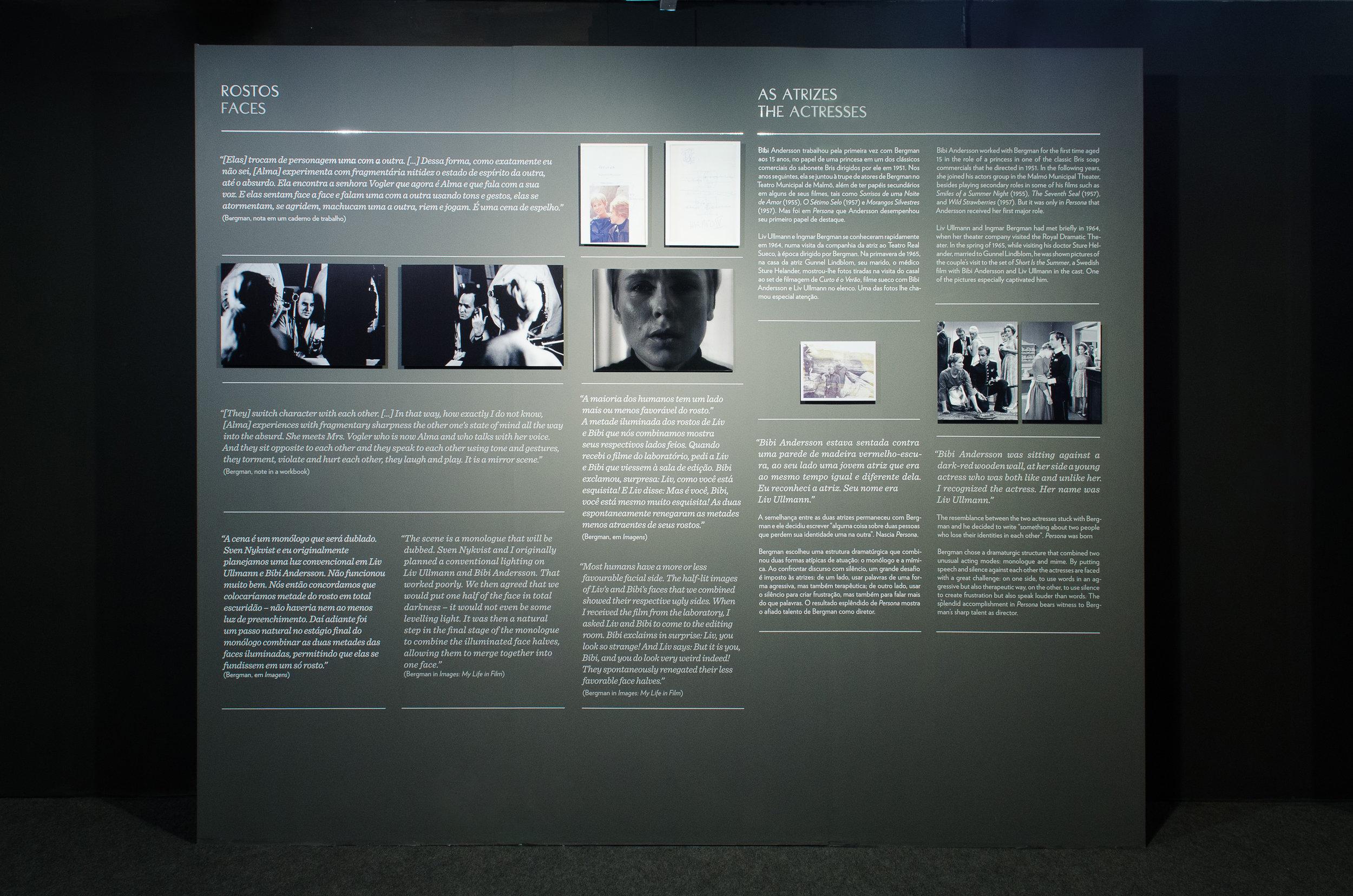 projeto de sinalização   expografia
