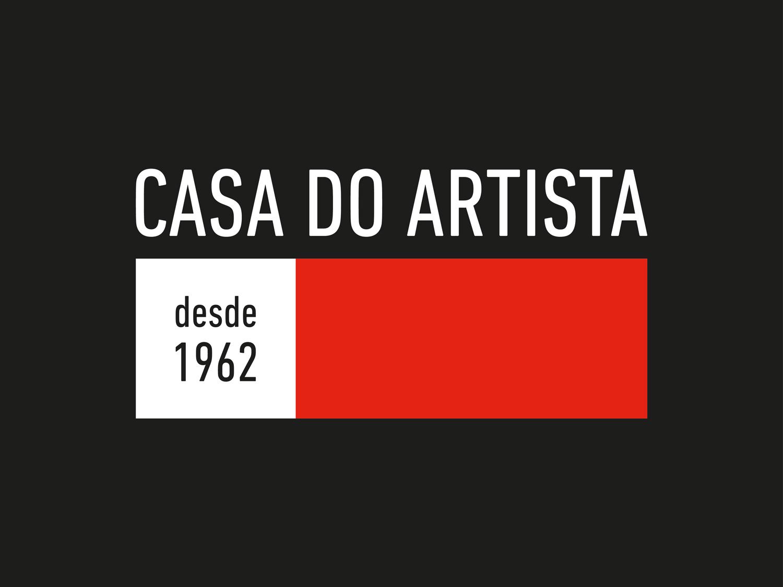 CASA DO ARTISTA | LOGO HORIZONTAL INVERTIDO