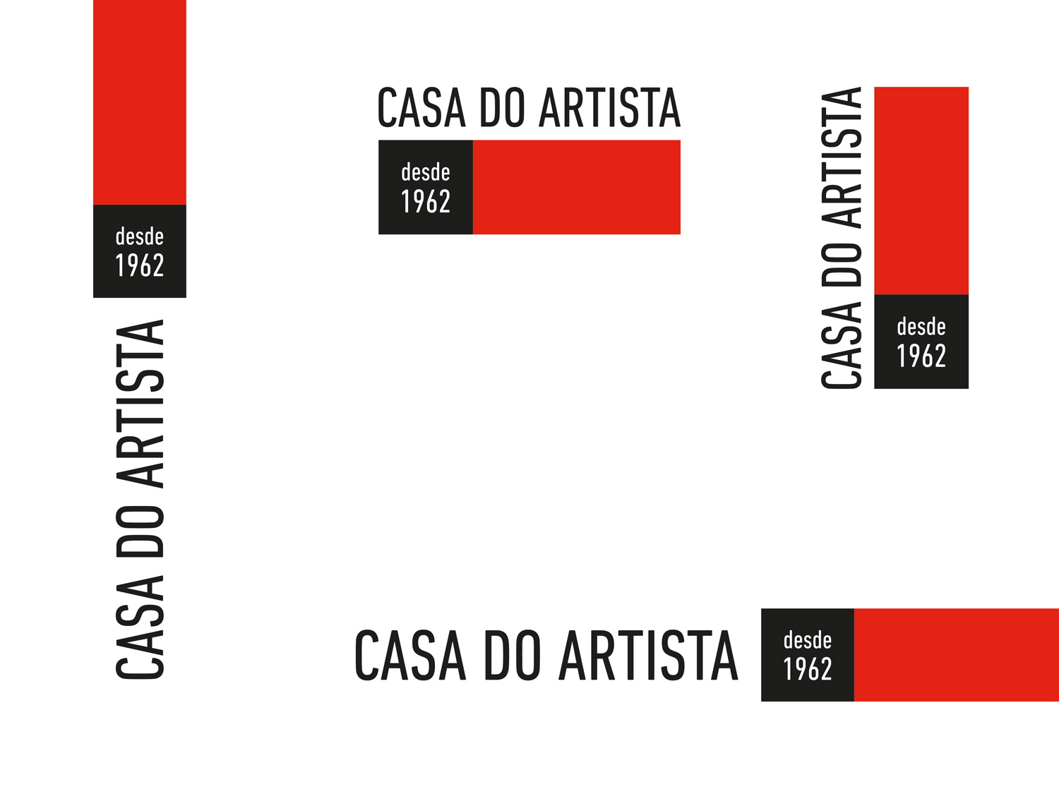 CASA DO ARTISTA | VARIAÇÕES DO LOGO