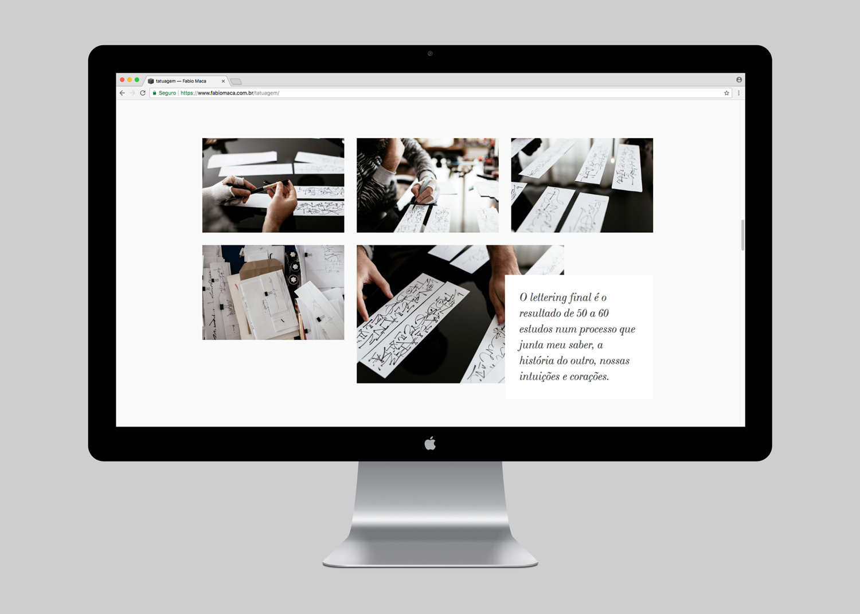 WEBSITE | TATUAGEM