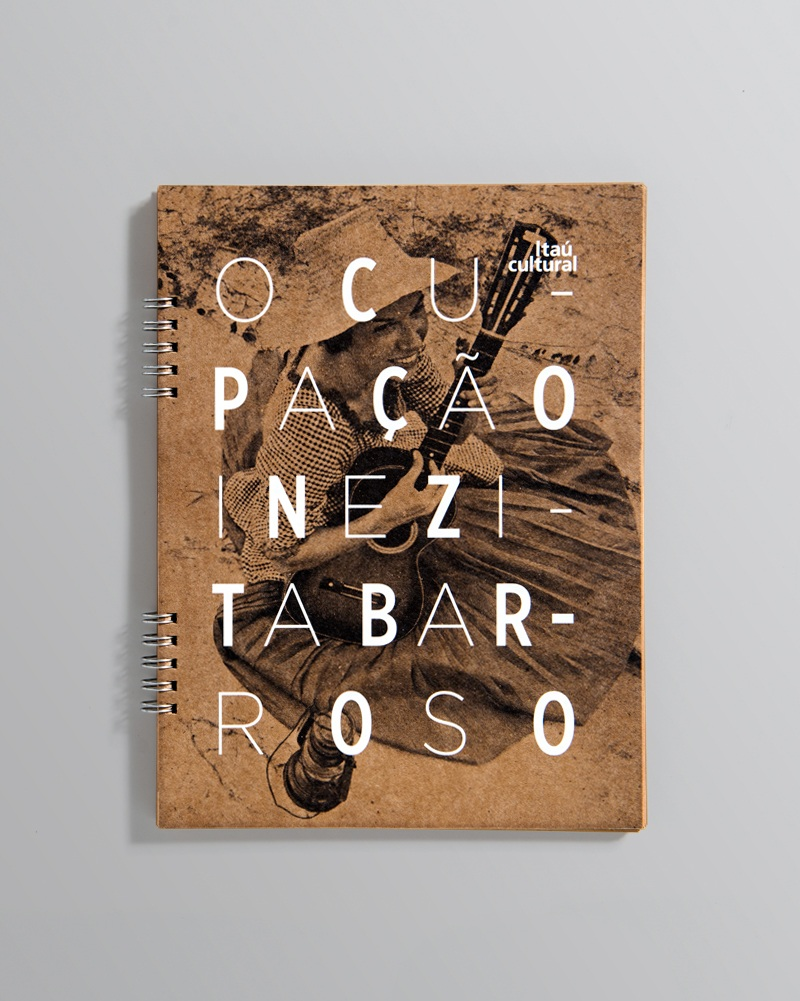 """Caderno da exposição """"Ocupação Inezita Barroso"""""""