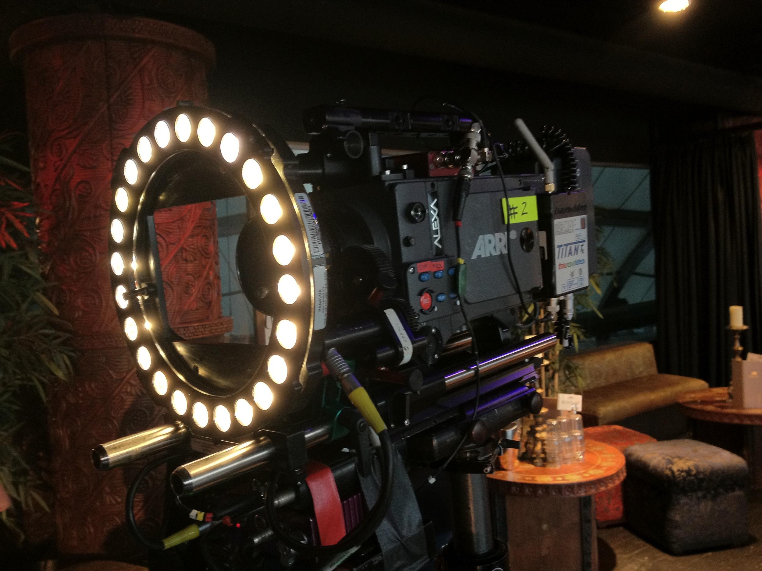 Light Ring Set up - Richard Cornelius - Steadicam Operator
