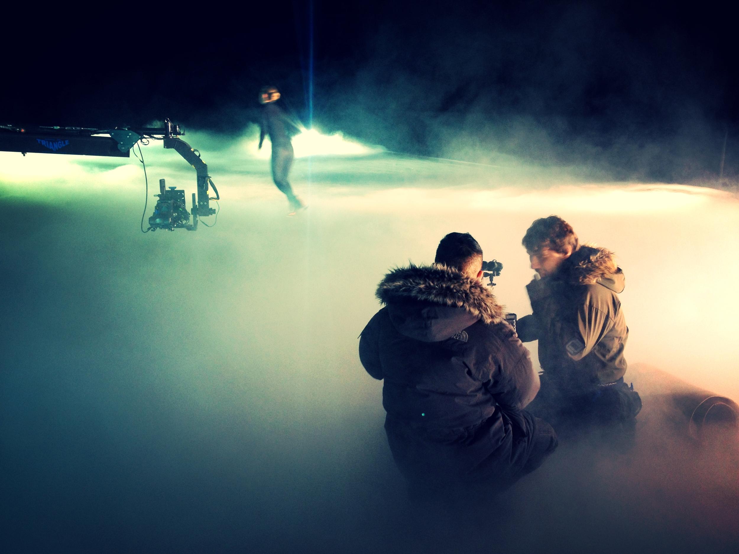 Dancing on Ice Idents Richard Cornelius - Director of Photography