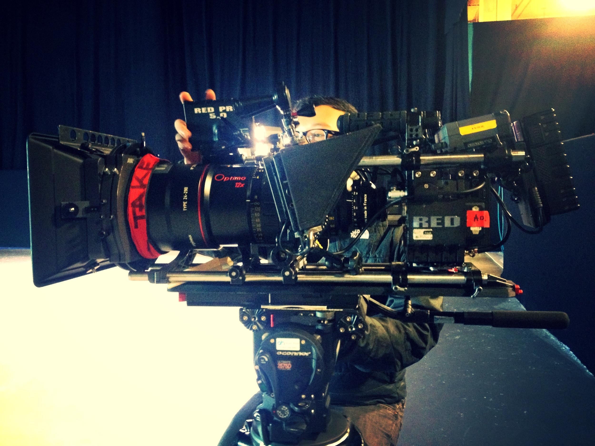 Big set up- Richard Cornelius - Director of Photography