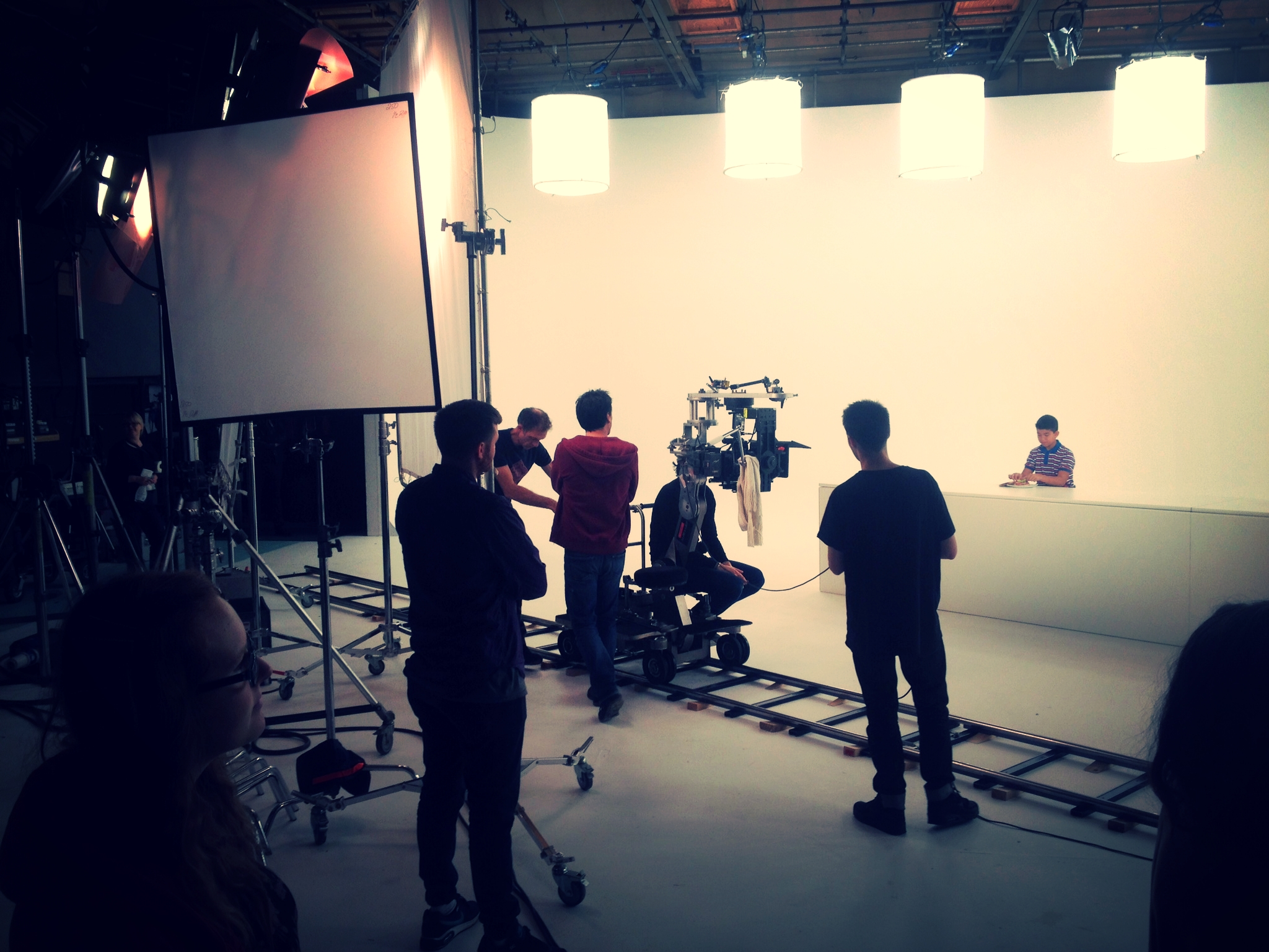 Shooting a commercial - Richard Cornelius - Director of Photography