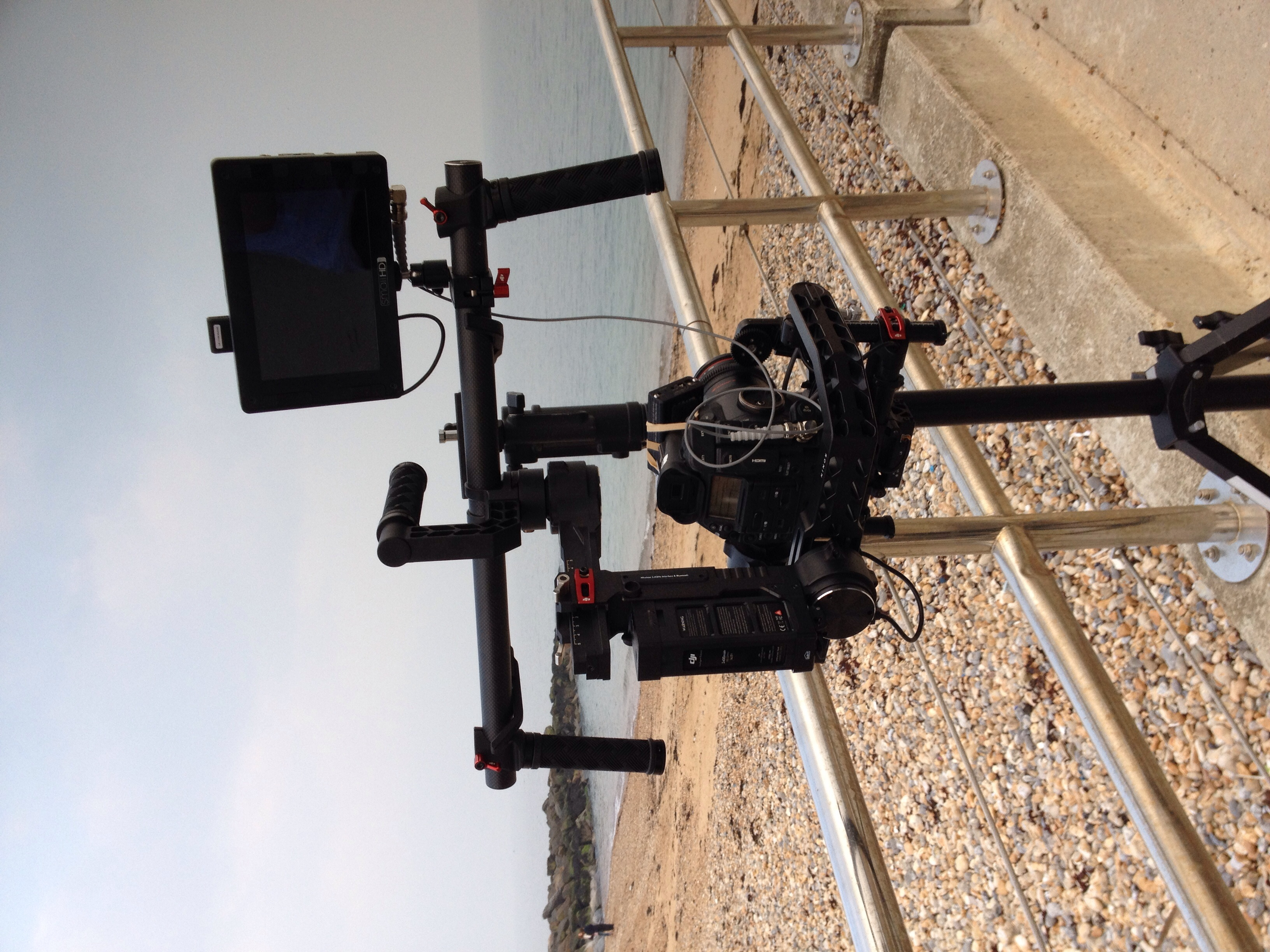 DJI Ronin and c300 rig