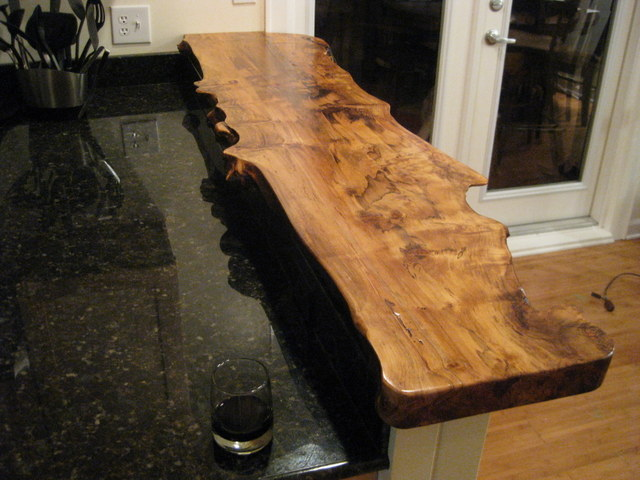 Bar Top in Spalted Maple