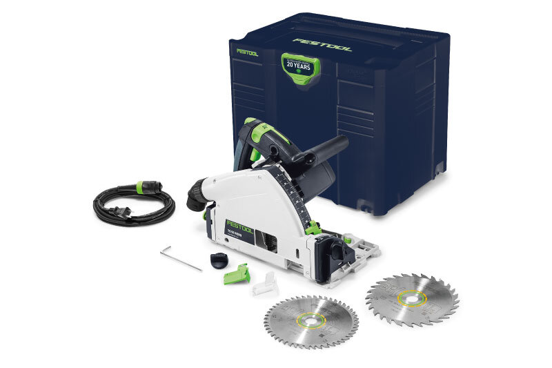 - TS 55 REQ $590Includes 28T Saw BladeThe Emerald Edition TS 55 includes the Emerald Blue Systainer and a 28T saw blade, a $61 value.