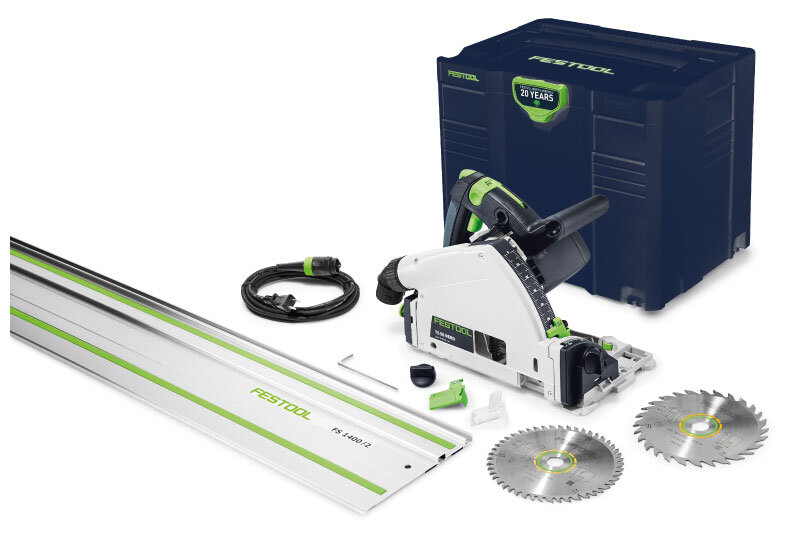 - TS 55 REQ /FS $690Includes 28T Saw BladeThe Emerald Edition TS 55 /FS includes the Emerald Blue Systainer and a 28T saw blade, a $61 value.
