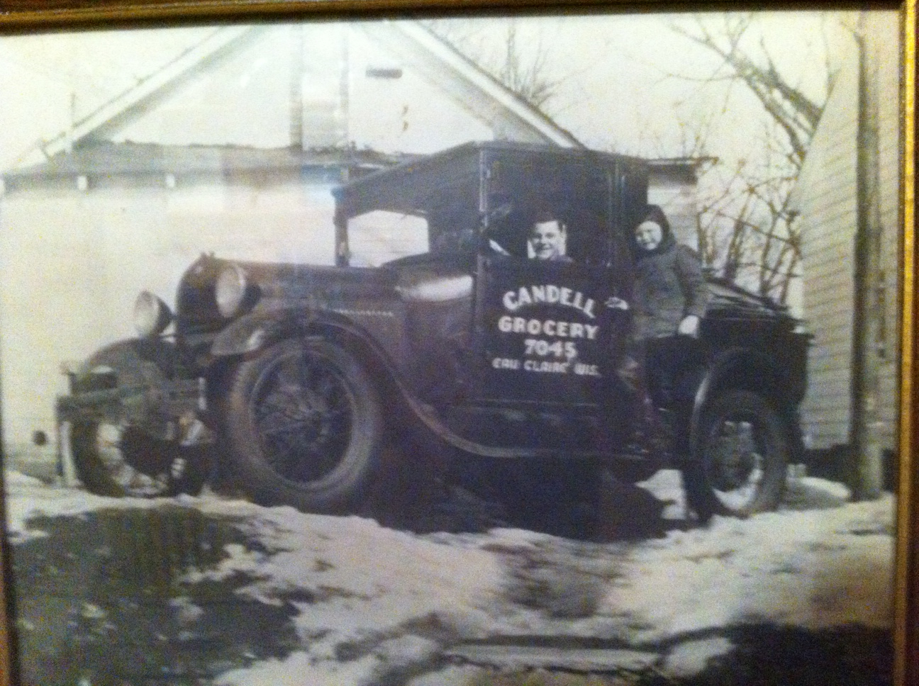 "Our Founder, Kerm Walker (the young boy in the photo) was born to be a grocer.  He would purchase this truck and start the first ""supermarket"" in Eau Claire when he was just 20 years old."
