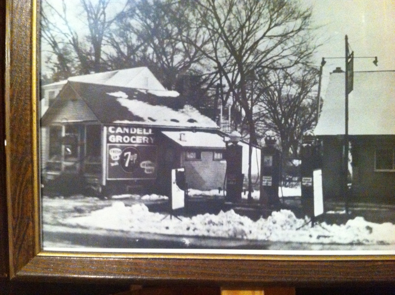 "Kerm Walker would purchase this small shed and turn it into one of the the first ""grocery stores"" in Eau Claire."
