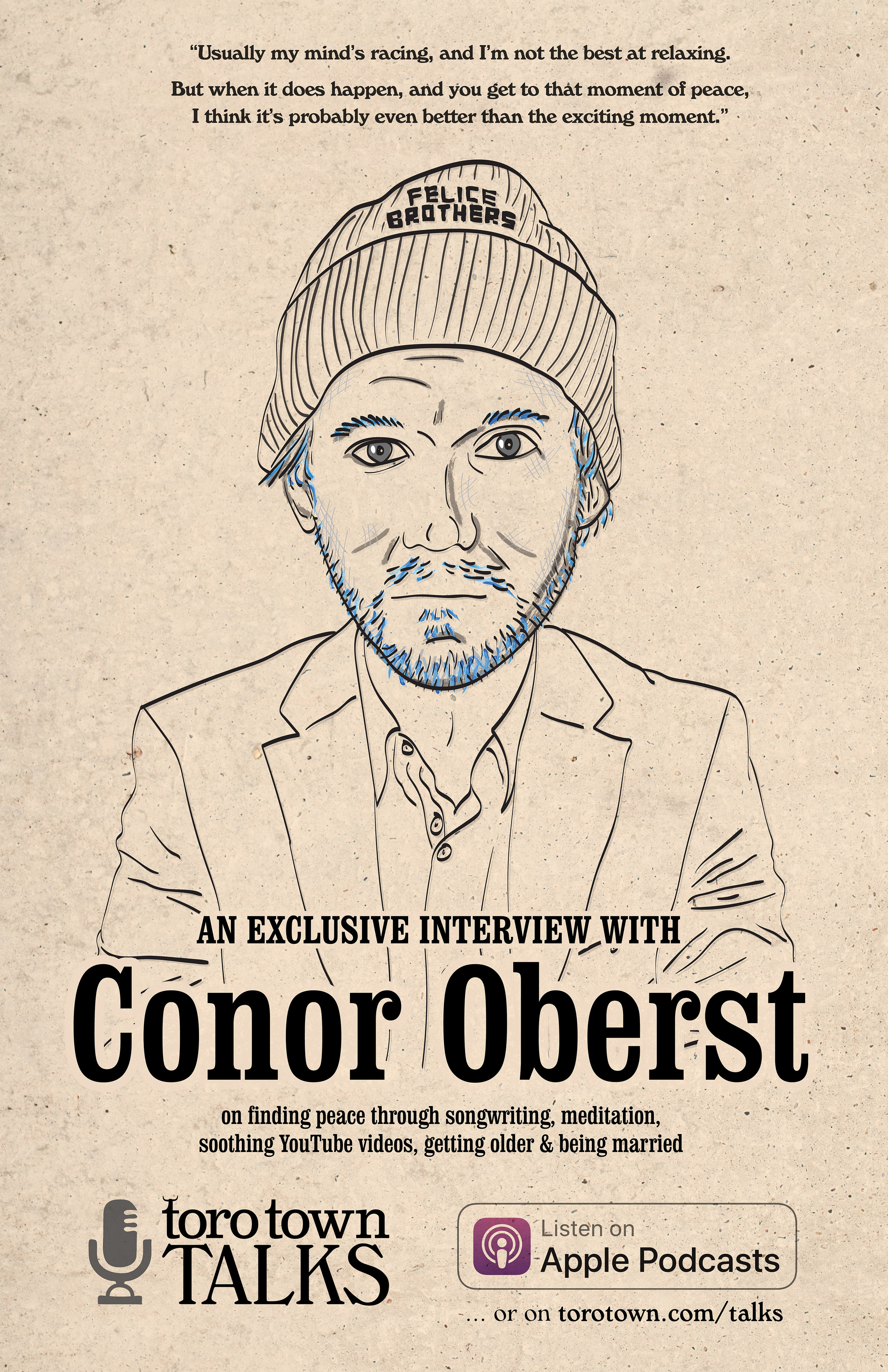 Toro Town Talks: Conor Oberst