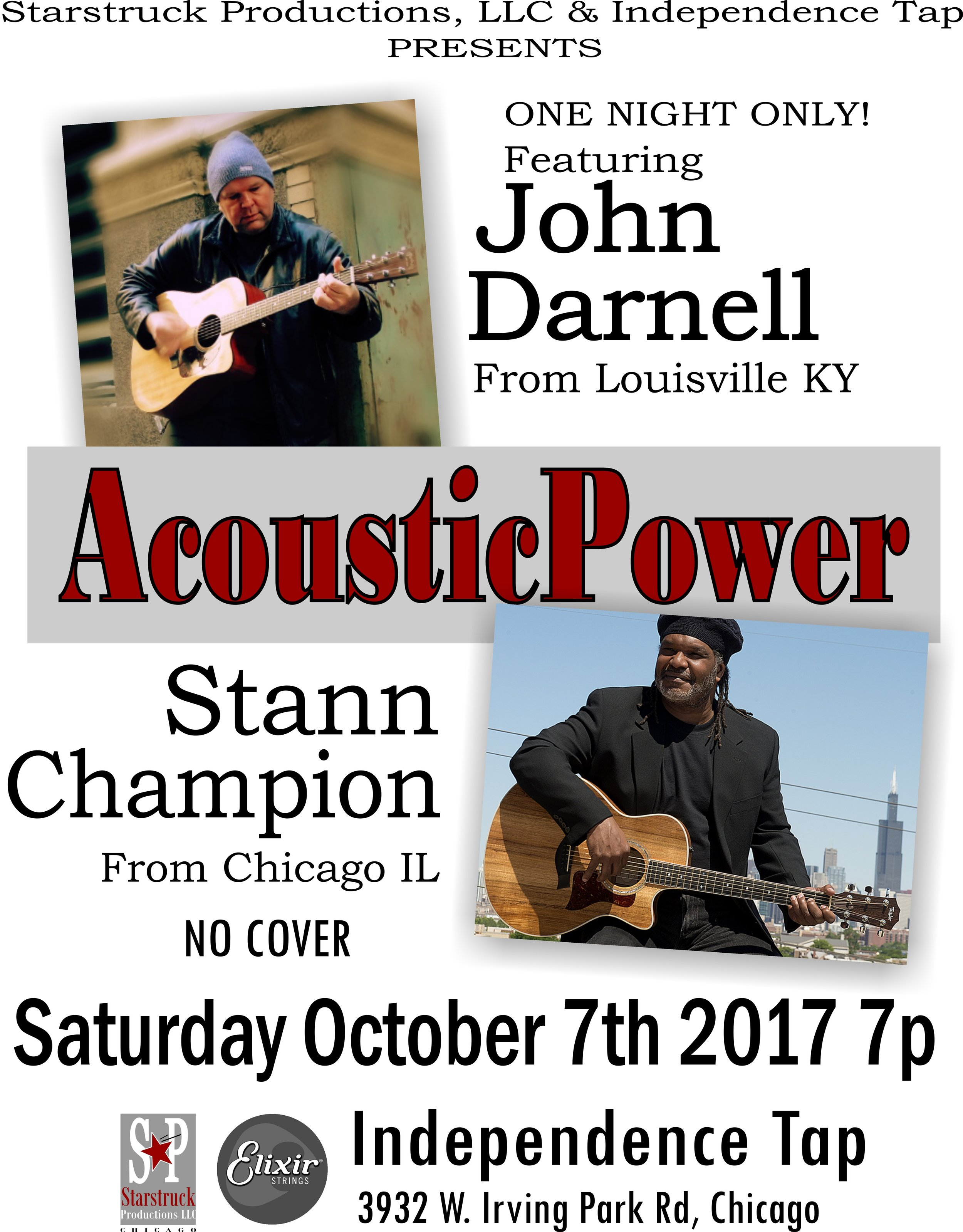 Stann Champion and Johnny D Acoustic Power Tour