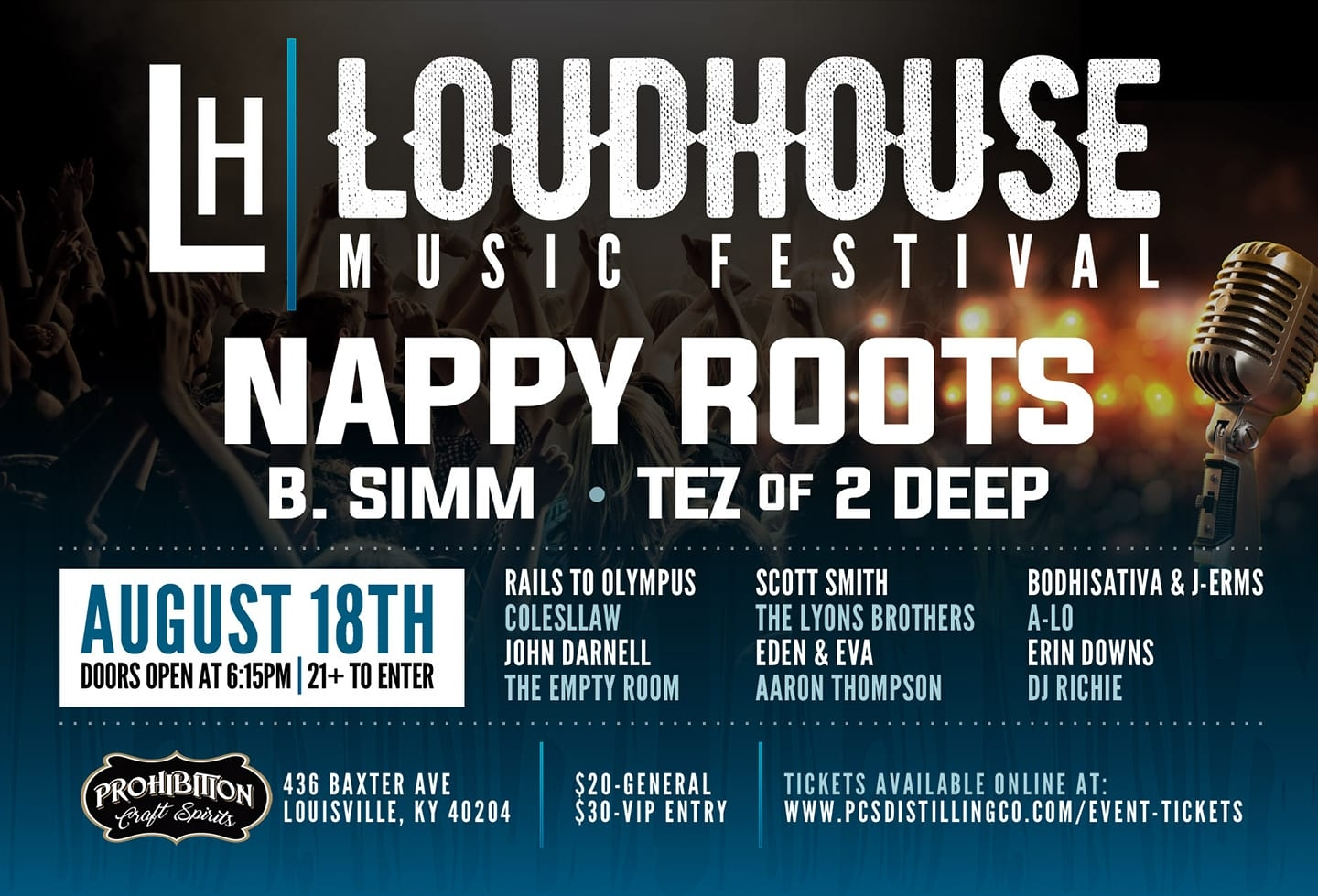 Johnny D performs with Nappy Roots