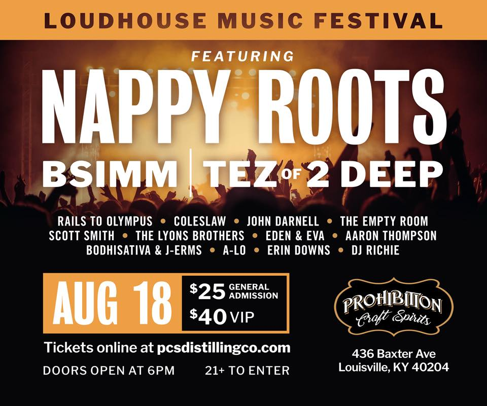 Nappy Roots and Johnny D August 18th