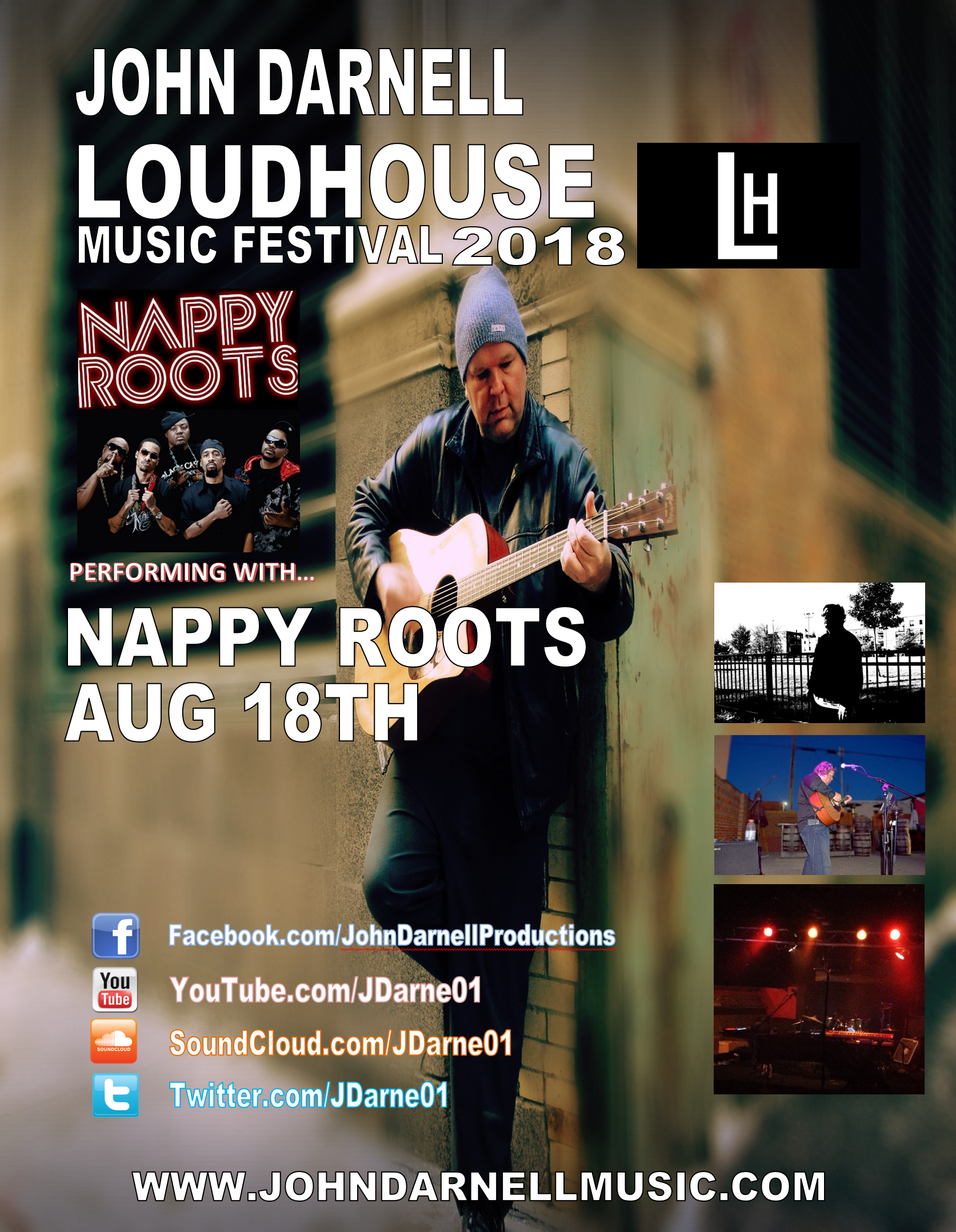 Grammy Award Nominee Nappy Roots and Johnny D