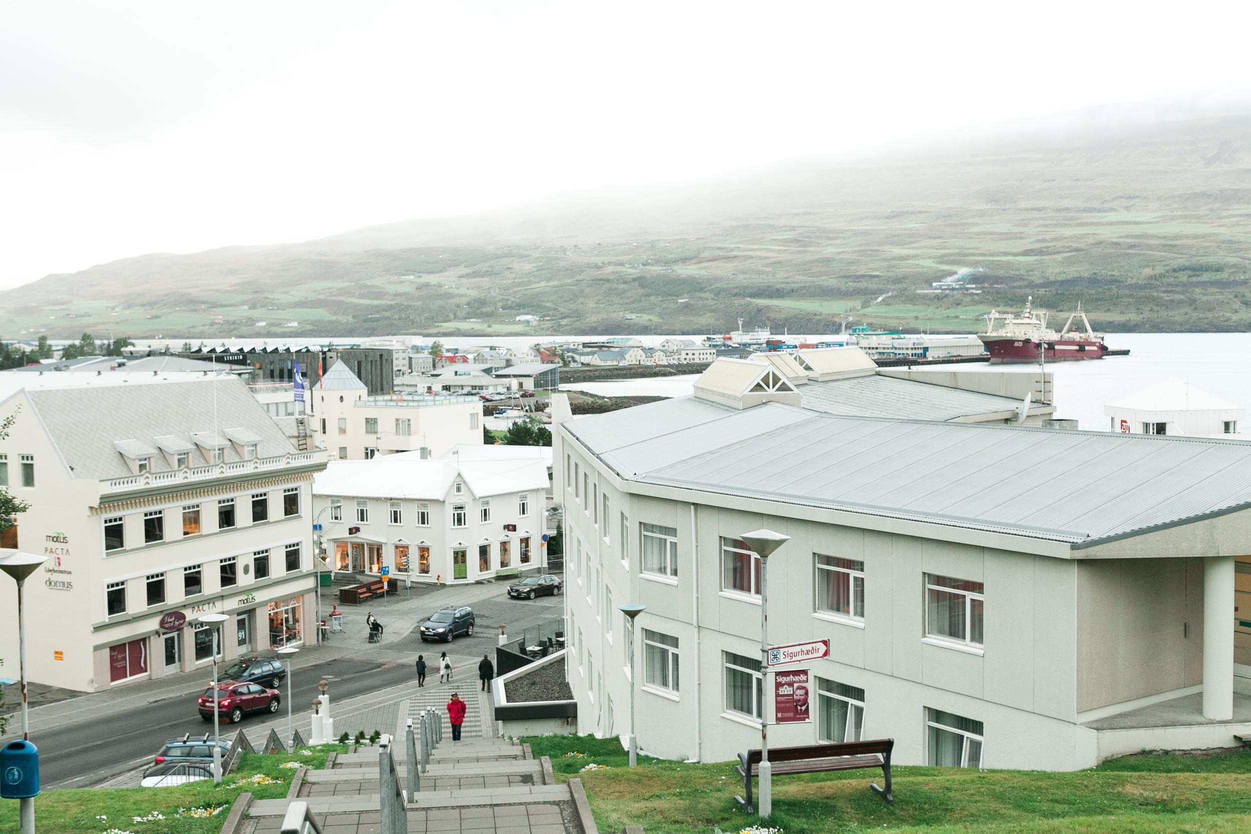 Downtown Akureyri
