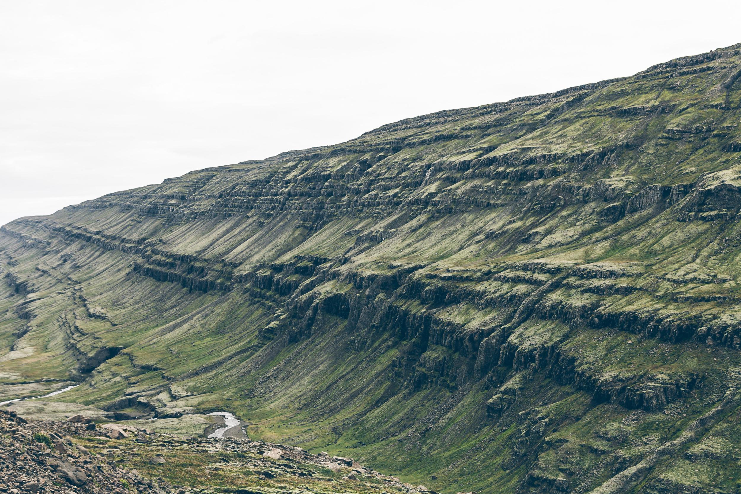 Terrain along the Öxi Mountain Pass
