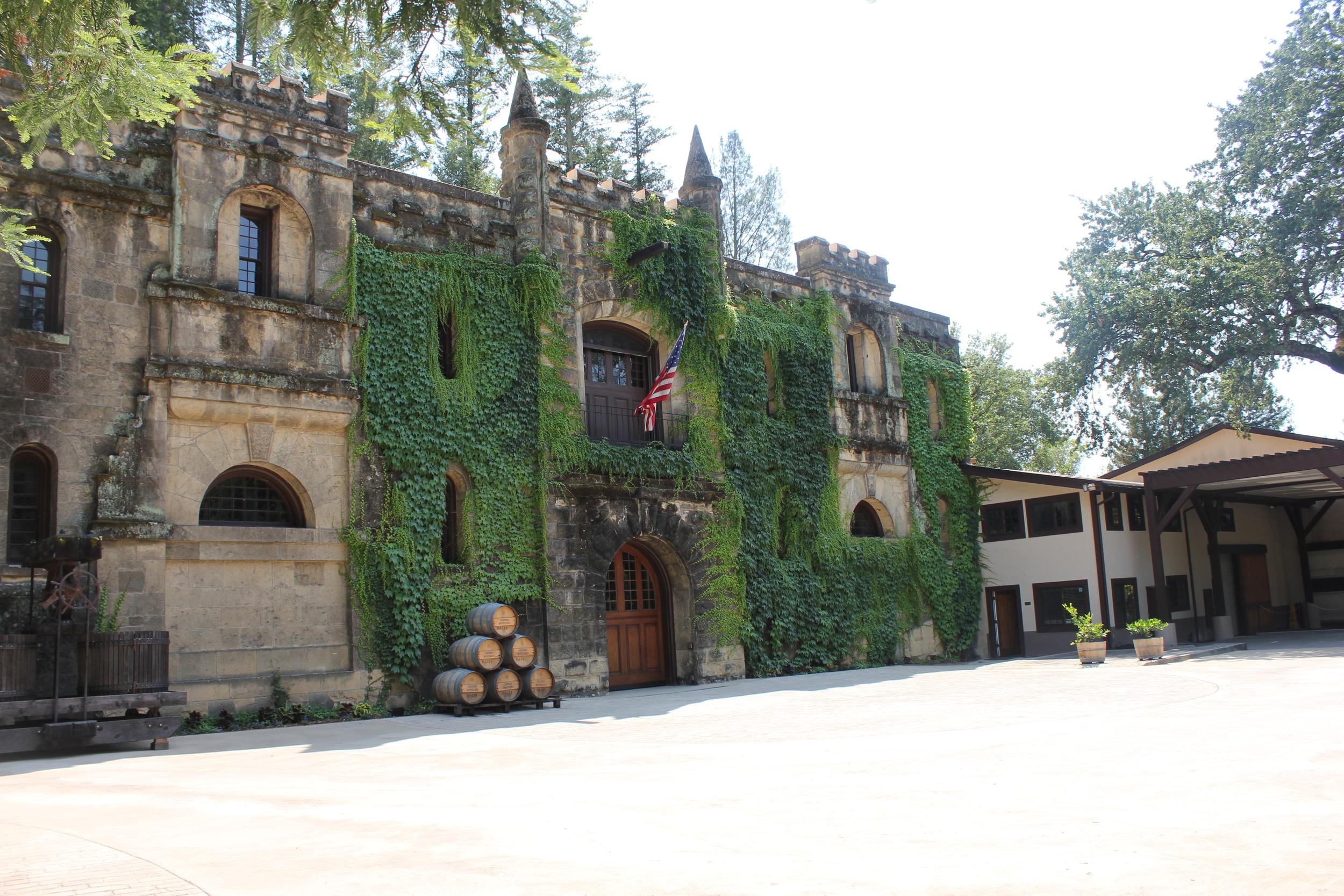 Beautiful Chateau Montelena in Calistoga, CA
