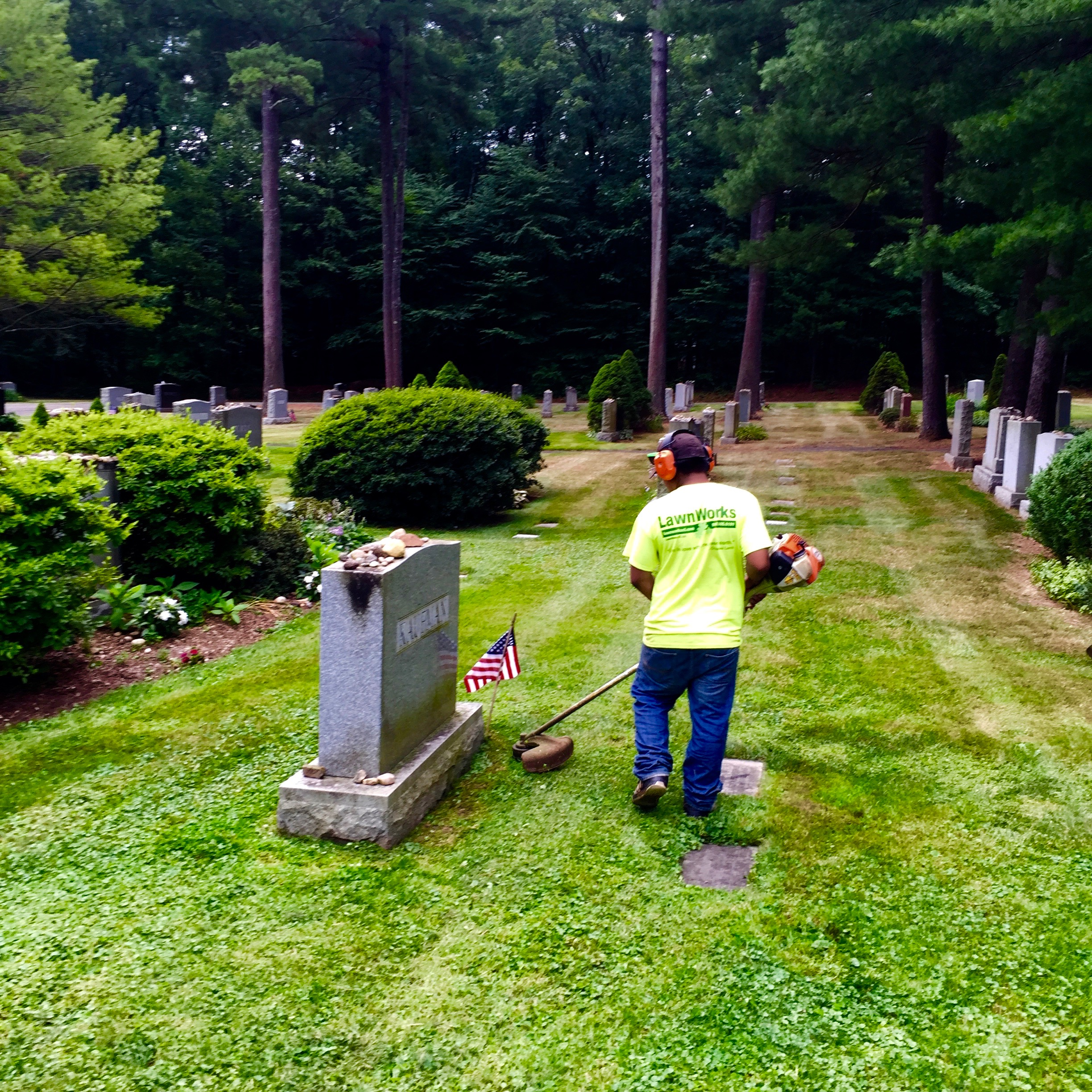 Groundskeeping for Cemeteries & Historical Sites