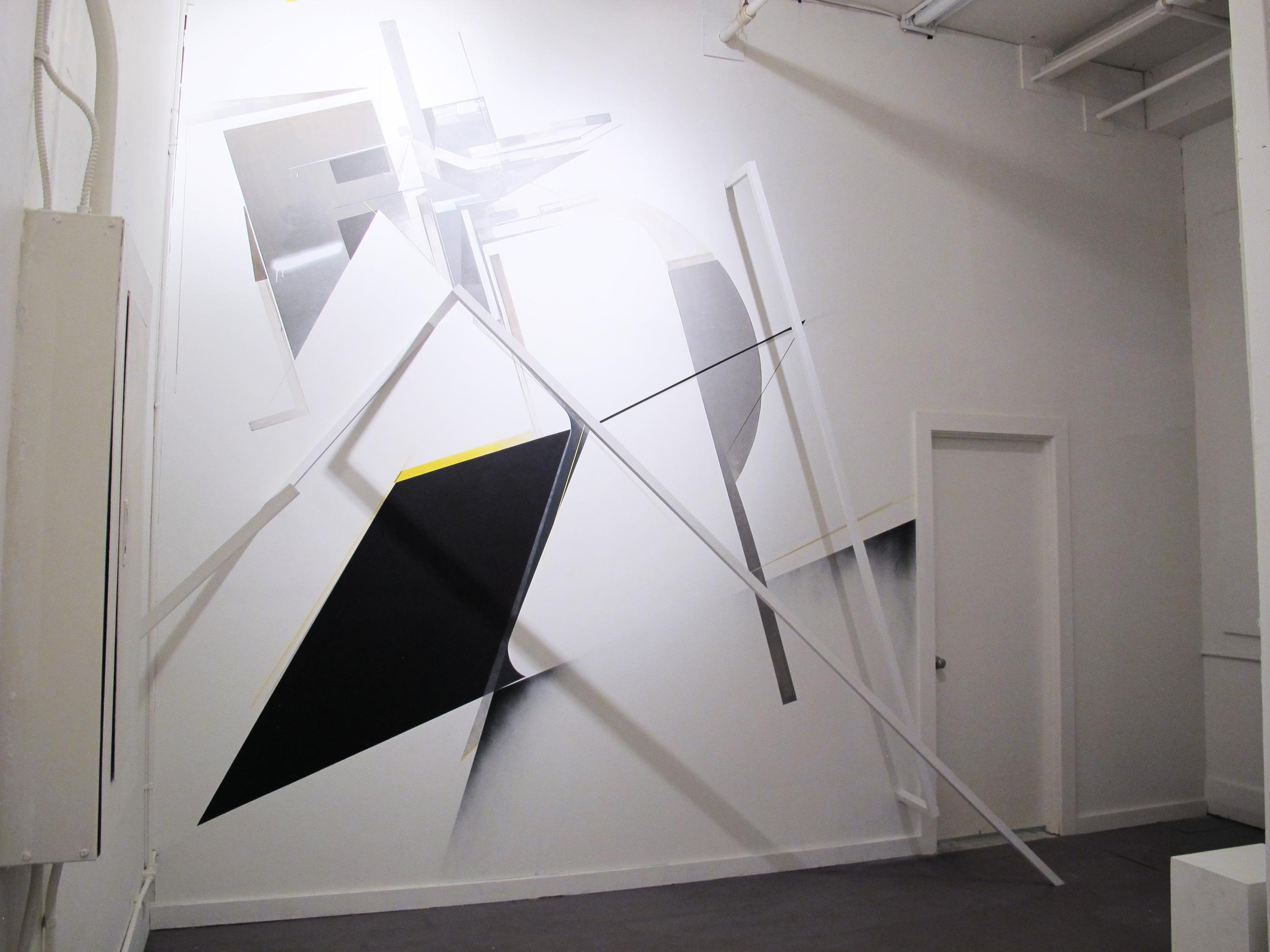 Installation with   Augustine Kofie   and   Christopher Derek Bruno   at  Breeze Block Gallery , 2013