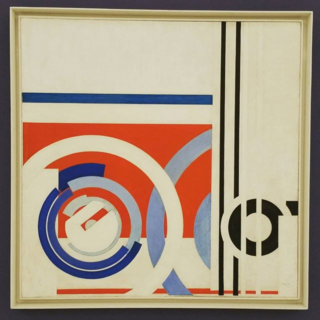 František Kupka. National Gallery, Fair Trade Palace. Czech abstract and cubist painter, early work is very different, these are from a later graphic period about 1913-14