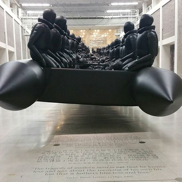 Ai Weiwei. Law of the Journey. National Gallery, Fair Trade Palace. Prague.