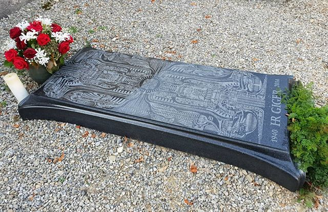 We may never get a chance to visit Gruyere again. But we got to say a proper farewell to Giger. A fitting headstone in his own style. He will always be remembered.
