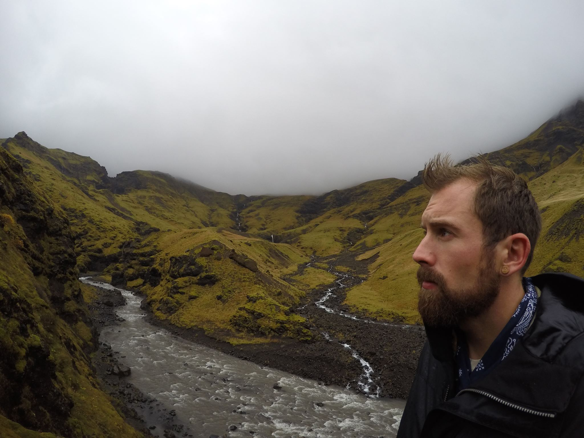 This photo was captured with the Hero 4 Silver at Seljavallalaug in Southern, Iceland