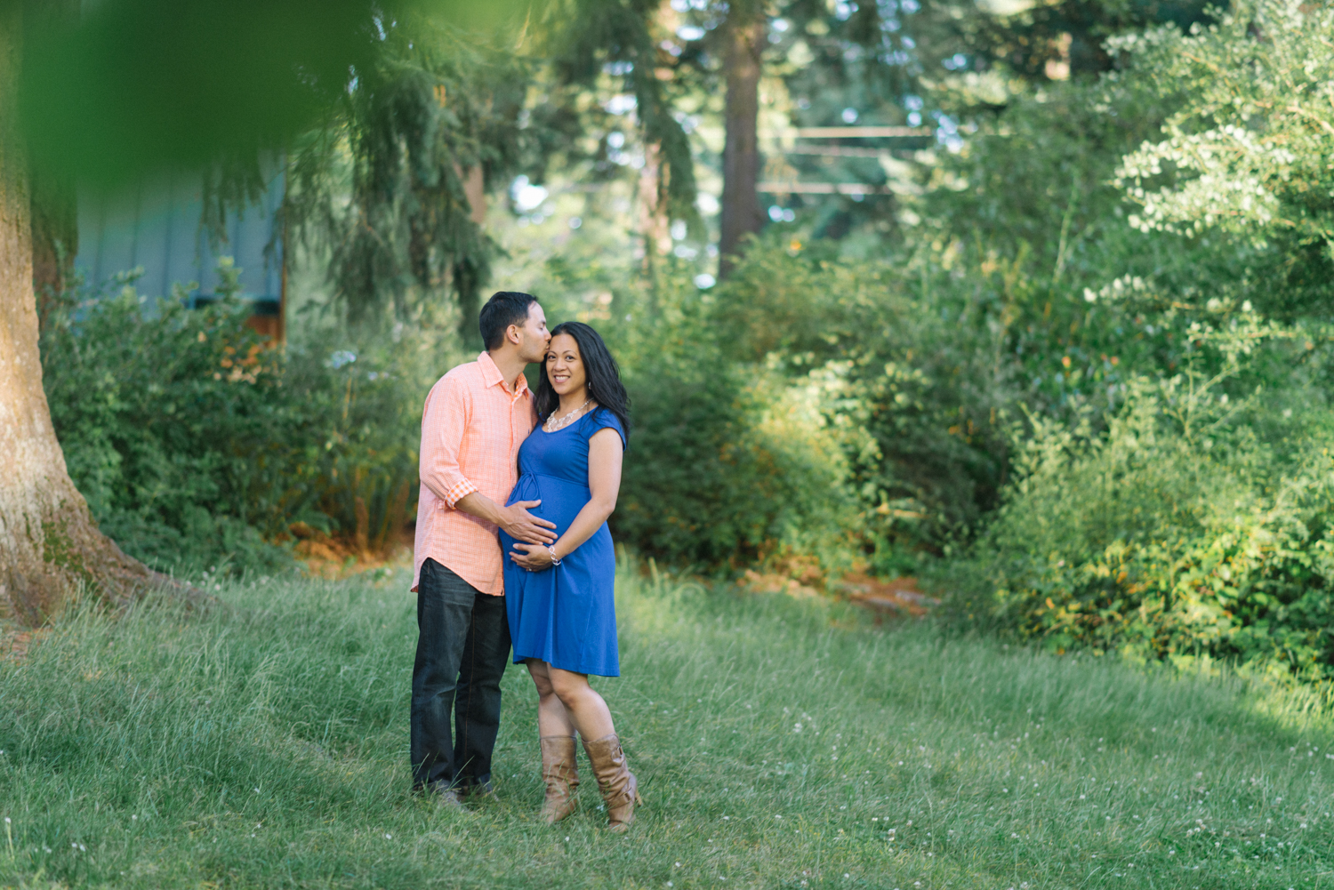 Maternity-Photographer-Portland-Oregon-Couples-Portrait-Hoyt-Arboretum-Washington-Park-Nature-Natural-Light-Shelley-Marie-Photography-3