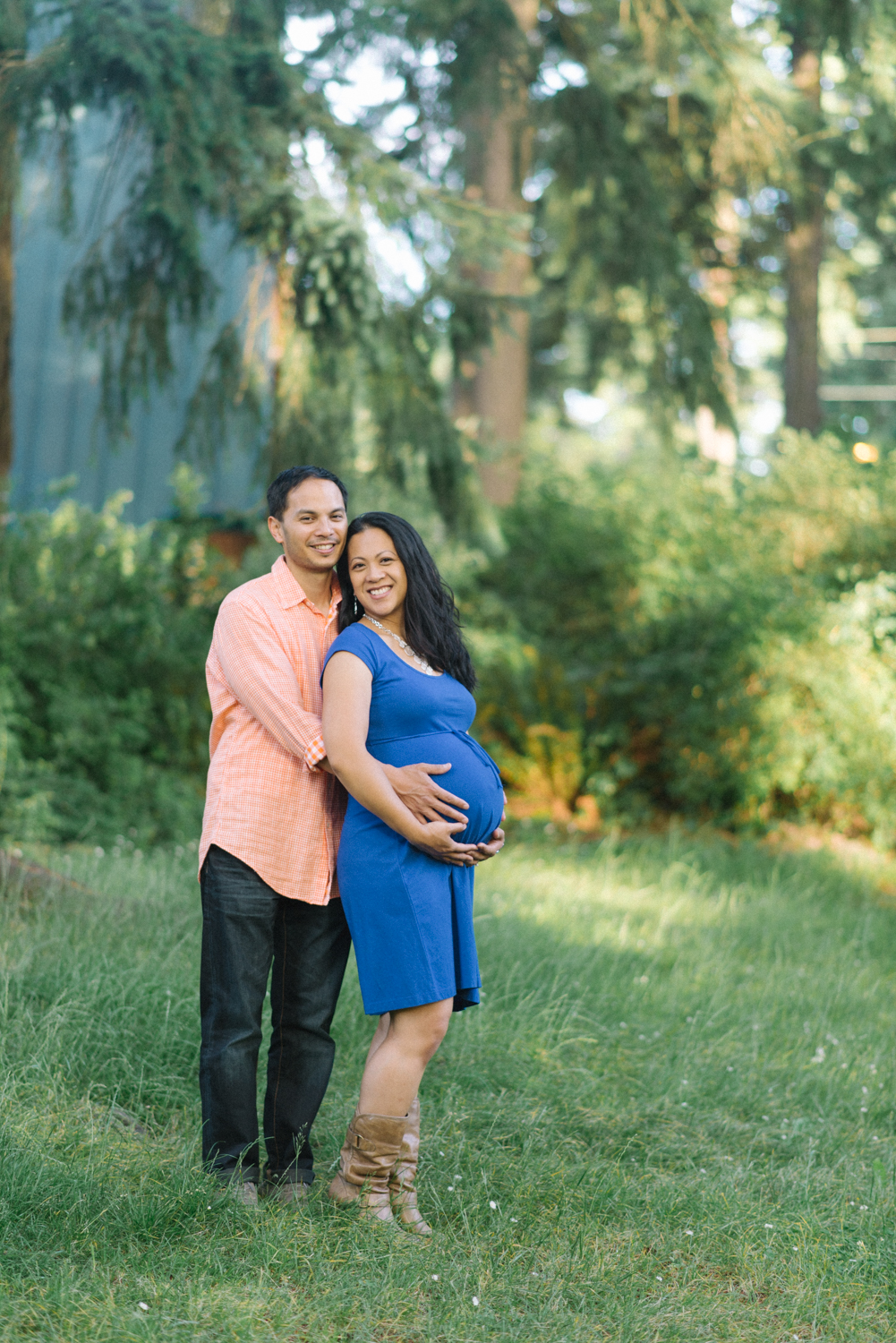 Maternity-Photographer-Portland-Oregon-Couples-Portrait-Hoyt-Arboretum-Washington-Park-Nature-Natural-Light-Shelley-Marie-Photography-6