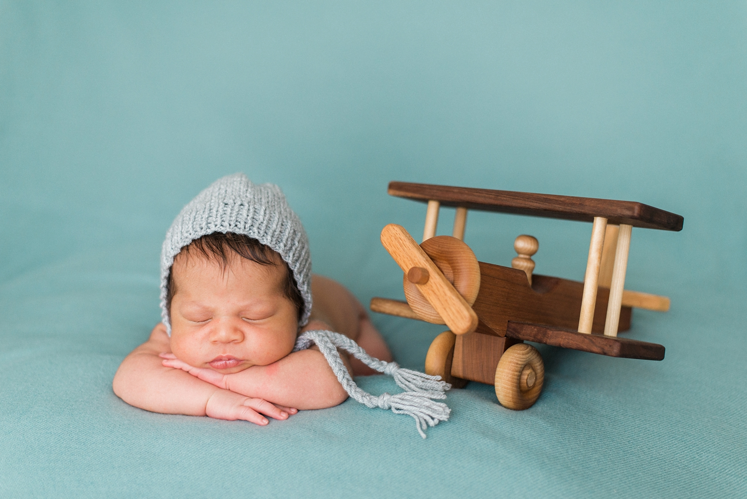 best-newborn-photographer-portland-oregon-sleeping-baby-aviator-knit-hat-airplane-shelley-marie-photography-9.jpg