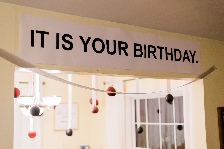 A Dunder Mifflin Birthday Party