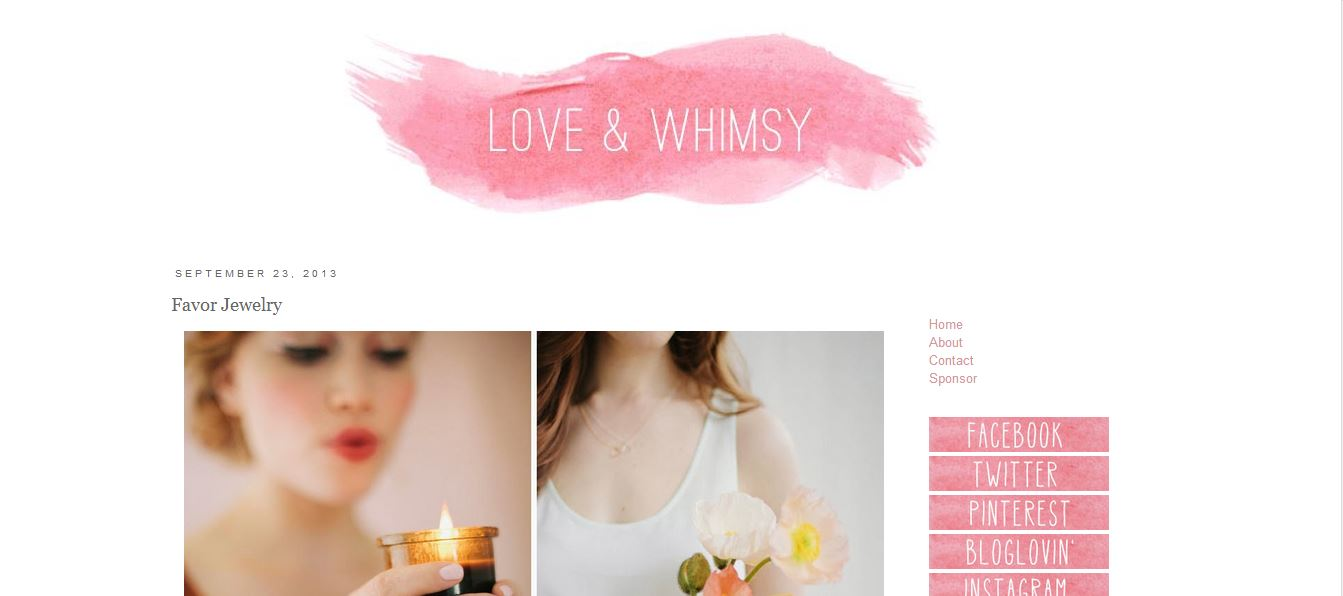 Love and Whimsy featuring Favor Jewelry