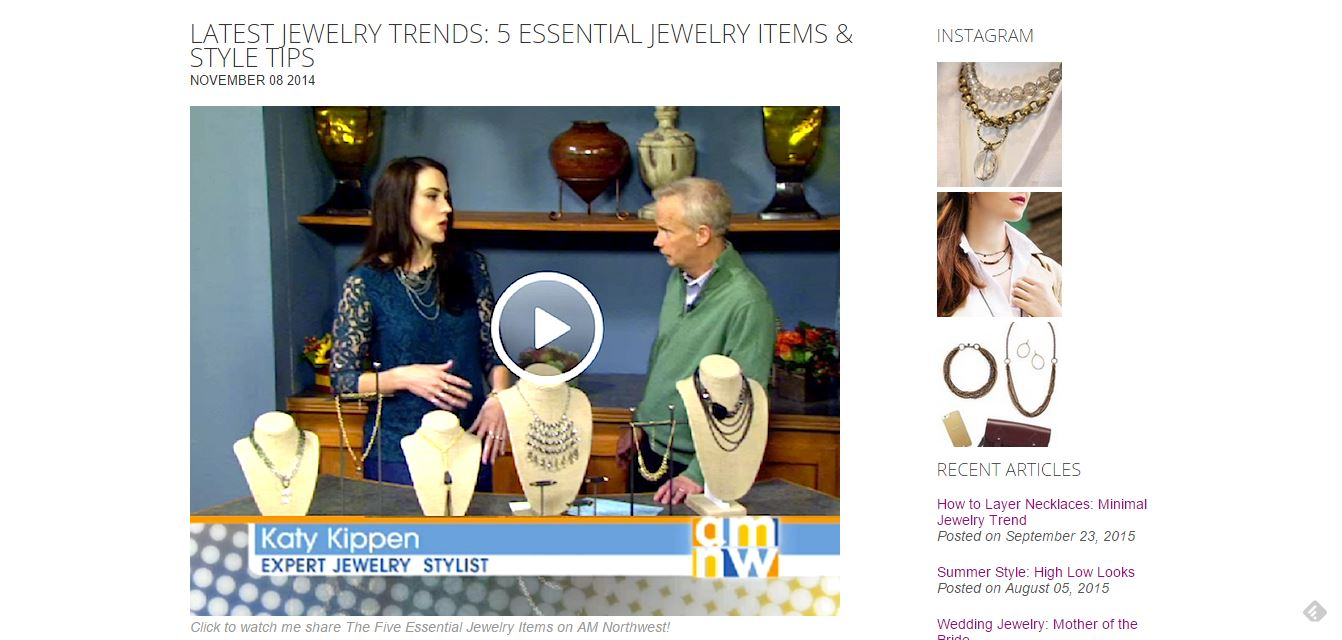 Latest Jewelry Trends: 5 Essential Jewelry Items & Style Tips
