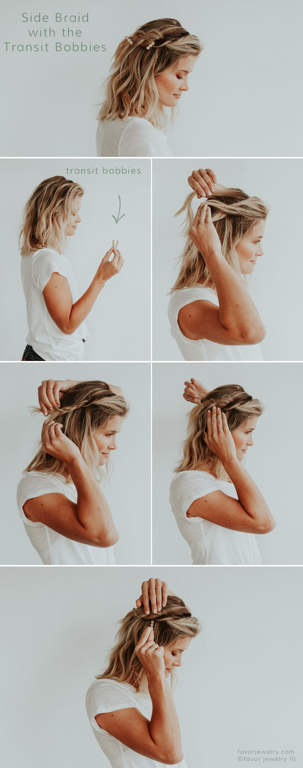 Side Braid Tutorial with the Transit Bobbies | Favor Jewelry