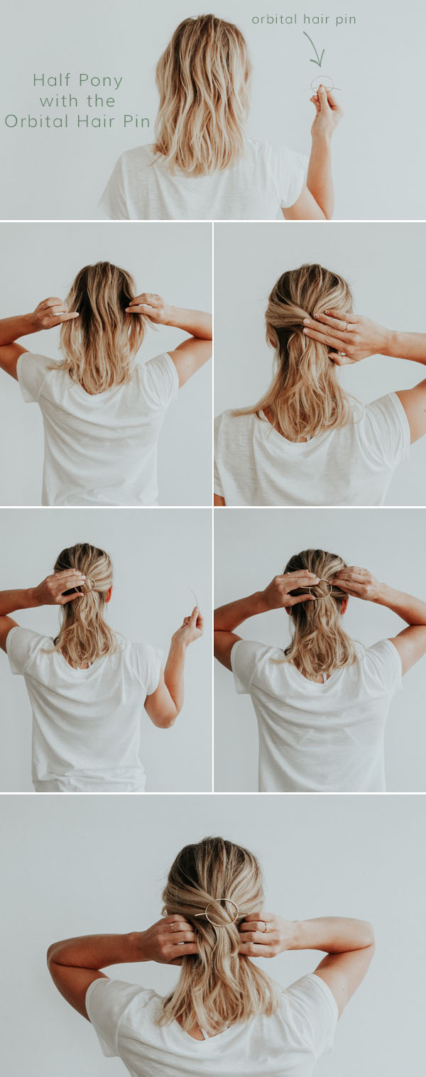 How to Use the Orbital Hair Pin | Favor Jewelry