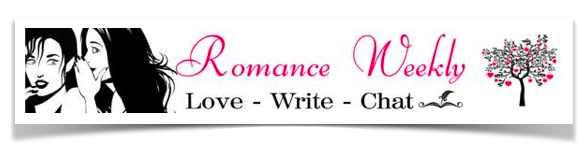 Do you like to read romance novels? Wouldn't you like to know more about your favorite authors? Well you came to the right place! Join the writers of Romance Weekly as we go behind the scenes of our books and tell all..... About our writing of course! Every week we'll answer questions and after you've enjoyed the blog on this site we'll direct you to another. So come back often for a thrilling ride! Tell your friends and feel free to ask us questions in the comment box