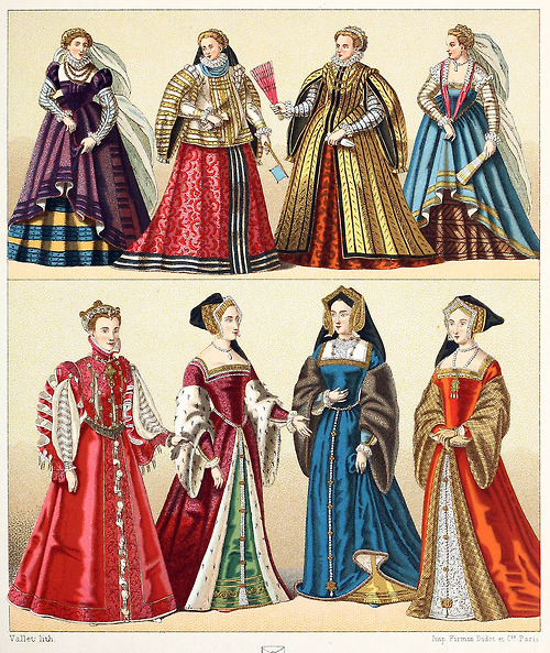 Actual period dress for the time period.